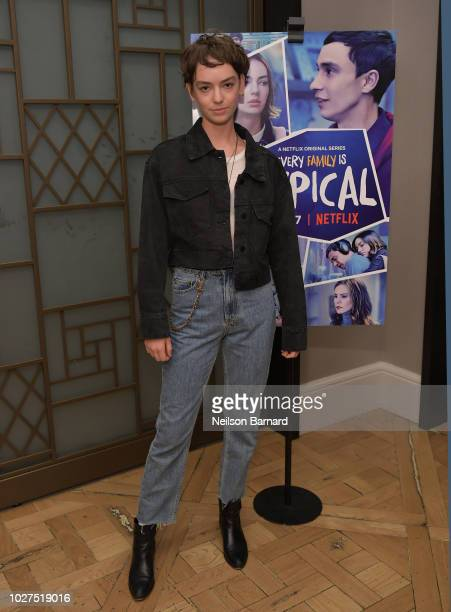 Brigette LundyPaine attends the Los Angeles Special Screening of Netflix's 'Atypical' Season 2' at The London Hotel on September 5 2018 in West...