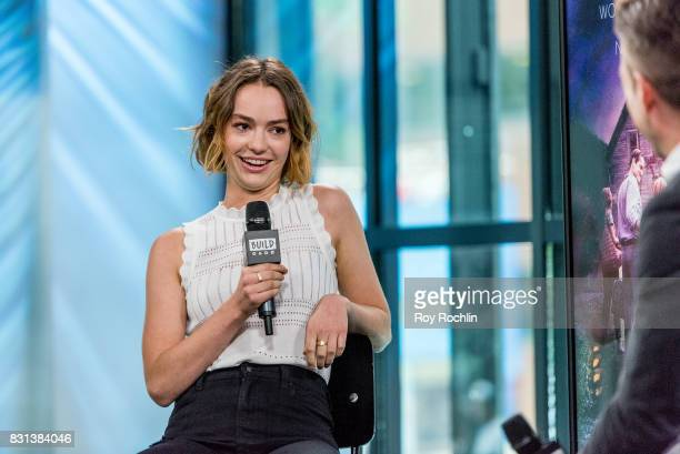 Brigette LundyPaine discusses 'Atypical' And 'The Glass Castle' with the Build Series at Build Studio on August 14 2017 in New York City