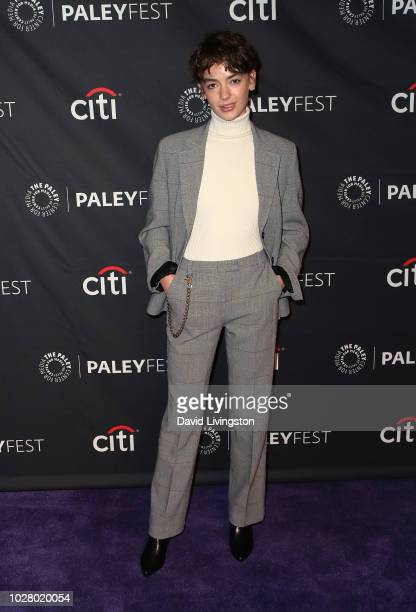 Brigette LundyPaine from Netflix's Atypical attends The Paley Center for Media's 2018 PaleyFest Fall TV Previews Netflix at The Paley Center for...