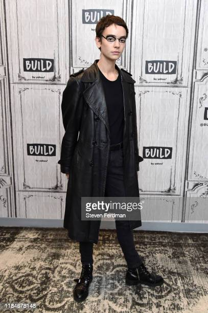 Brigette LundyPaine visits Build Studio on October 31 2019 in New York City