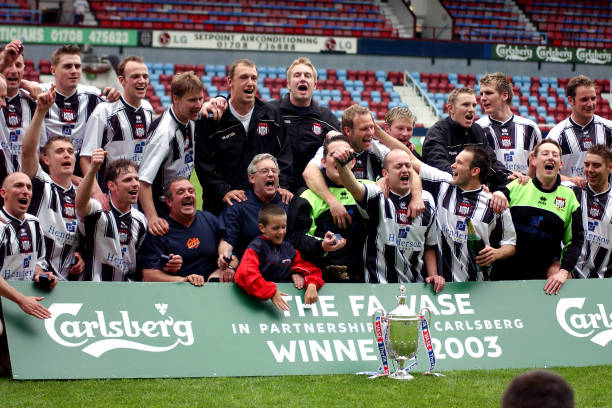 Soccer Fa Carlsberg Vase Final Sudbury V Brigg Town Pictures