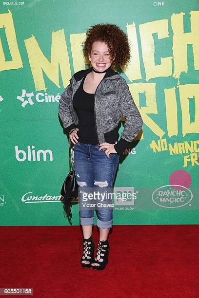 Briggitte Bozzo attends the No Manches Frida Mexico City premiere at Cinepolis Plaza Universidad on September 13 2016 in Mexico City Mexico