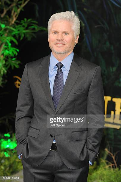 Brigham Taylor arrives for the European premiere of The Jungle Book at BFI IMAX on April 13 2016 in London England