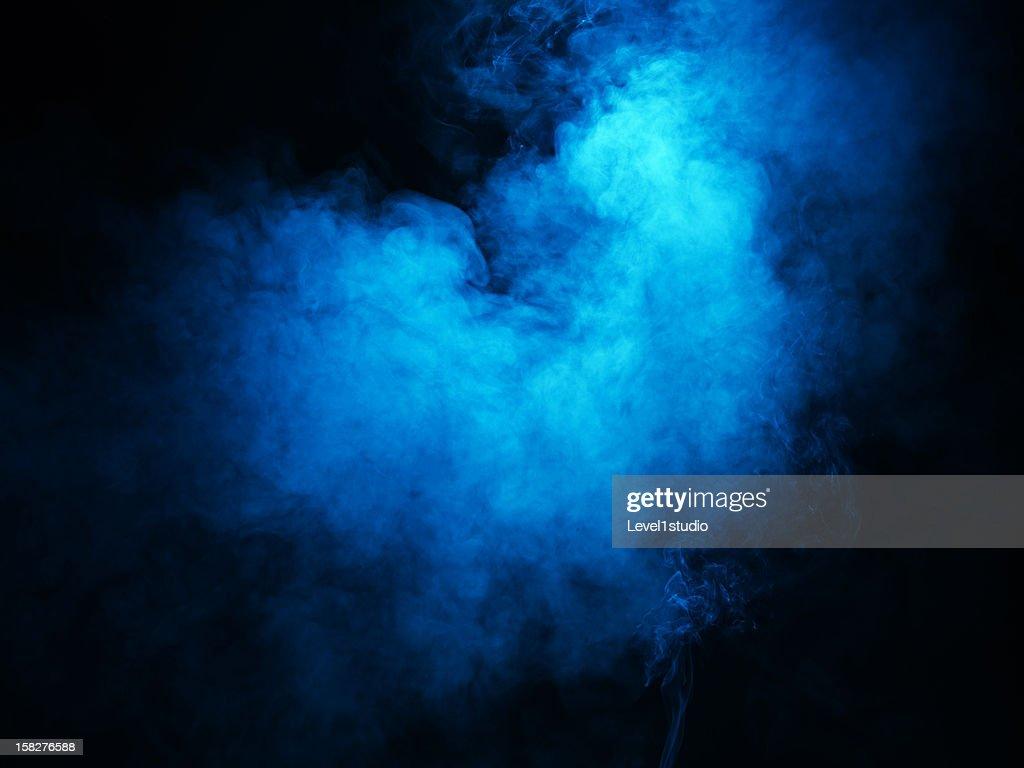 Bright colored smoke : Stock-Foto
