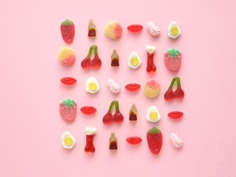 Bright coloured candies - gettyimageskorea
