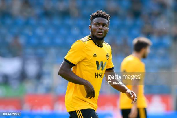 Bright Enobakhare of Wolverhampton Wanderers looks on during the HHotels Cup match between VfL Bochum and Wolverhampton Wanderers FC at Vonovia...