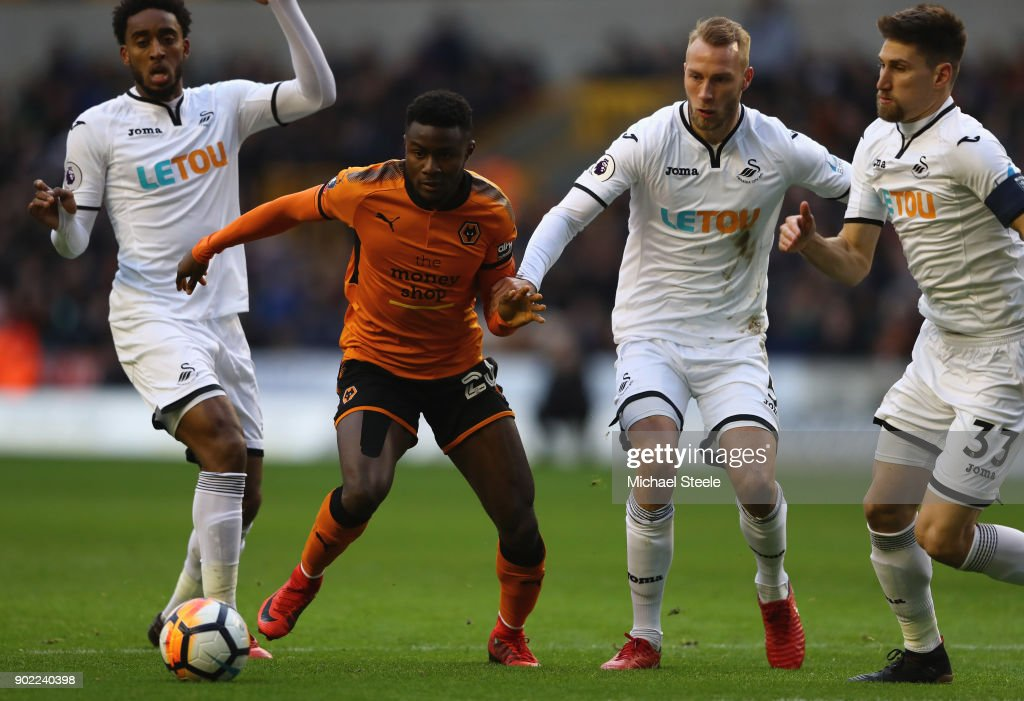 Wolverhampton Wanderers v Swansea City - The Emirates FA Cup Third Round
