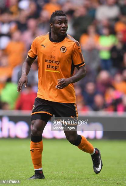 Bright Enobakhare of Wolves looks on during the preseason friendly match between Wolverhampton Wanderers and Leicester City at Molineux on July 29...