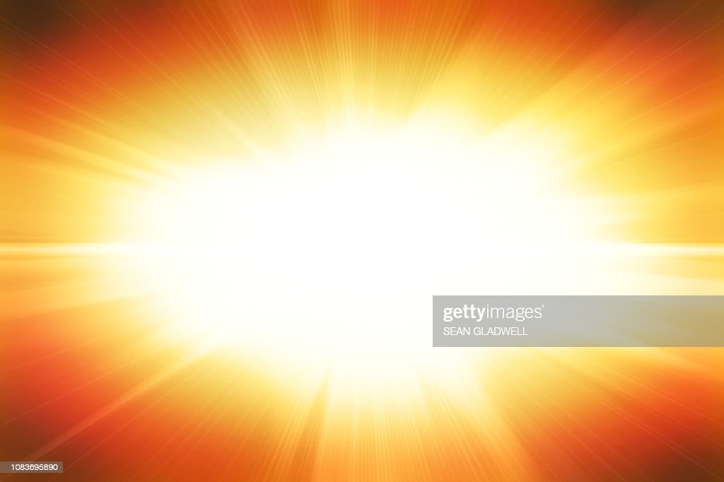 Bright flash illustration : Stock Photo