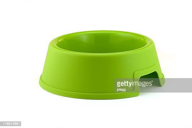 Bright Green Dog Bowl...