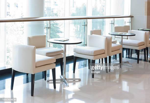 Bright indoor leisure café