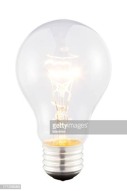 Helle Glühbirne