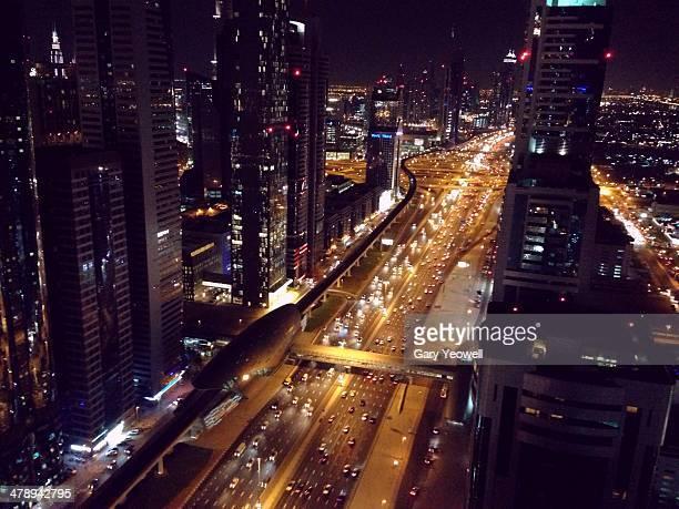 bright lights, big city! - yeowell foto e immagini stock