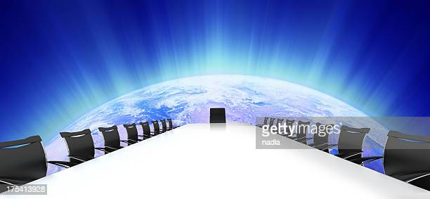 bright meeting - chairperson stock pictures, royalty-free photos & images