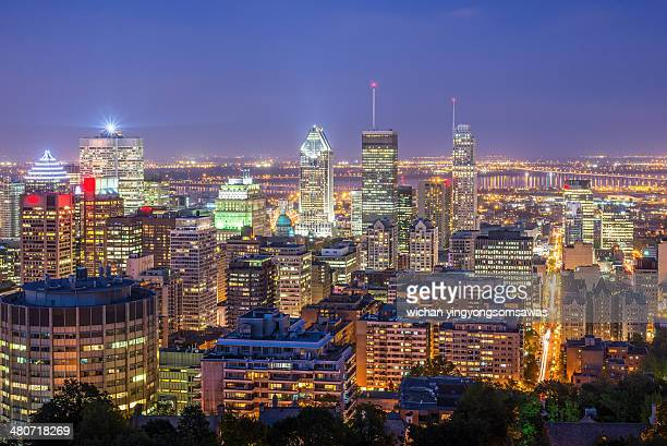 bright Montreal night