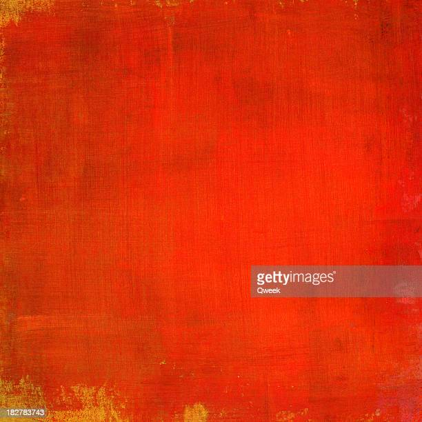Bright Red Painted Background