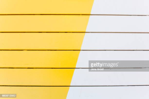 Bright Yellow Wall