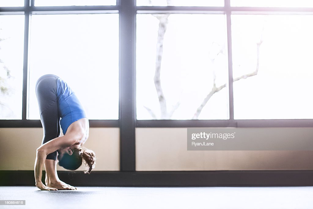 Bright Yoga Studio : Stock Photo