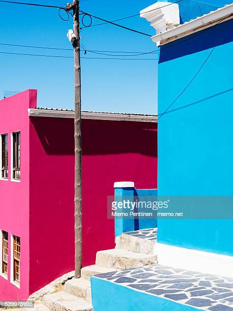 Brightly colored houses in Bo-Kaap, Cape Town