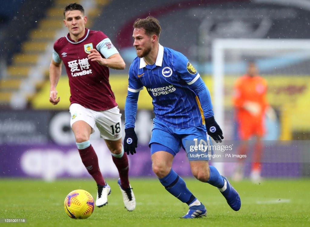 Burnley v Brighton and Hove Albion - Premier League - Turf Moor : News Photo