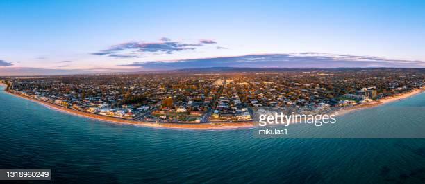 brighton beach, adelaide wa - adelaide stock pictures, royalty-free photos & images