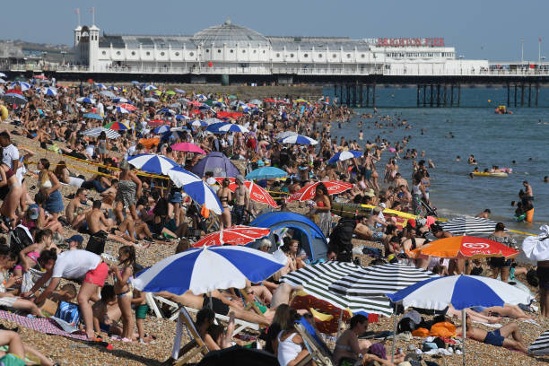 GBR: Britain Basks On Hottest Day Of The Year