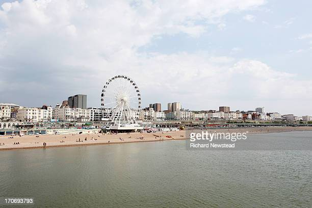 brighton beach - brighton beach england stock pictures, royalty-free photos & images