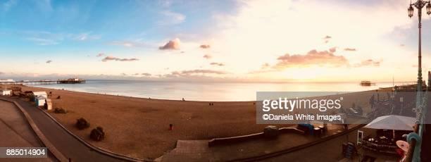 brighton beach - brighton beach england stock pictures, royalty-free photos & images