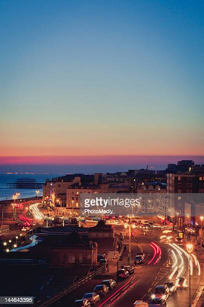 brighton coastal - イーストサセックス ストックフォトと画像