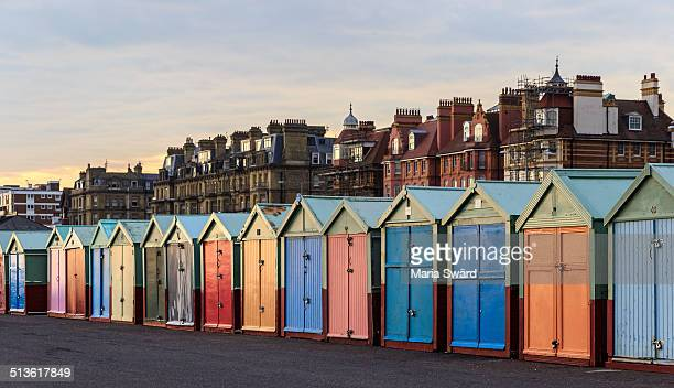 Brighton - colorful beach huts