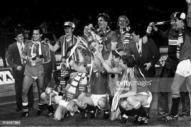 Brighton Hove Albion 04 Manchester United 1983 FA Cup Final Replay at Wembley Stadium London 26th May 1983