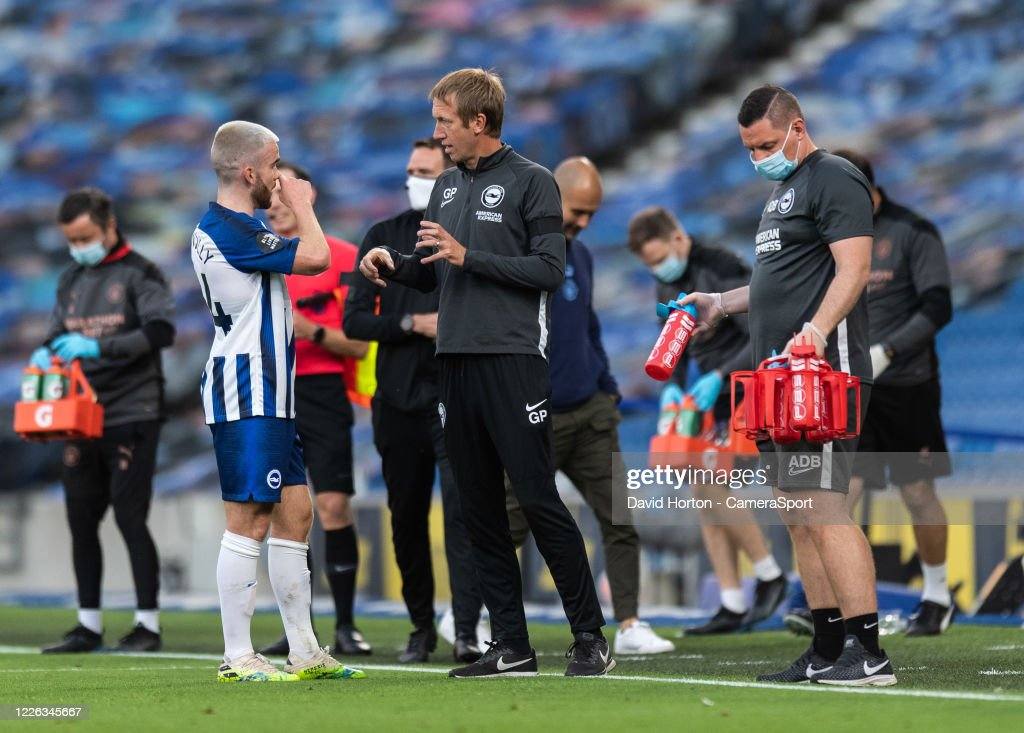 Brighton & Hove Albion v Manchester City - Premier League : ニュース写真