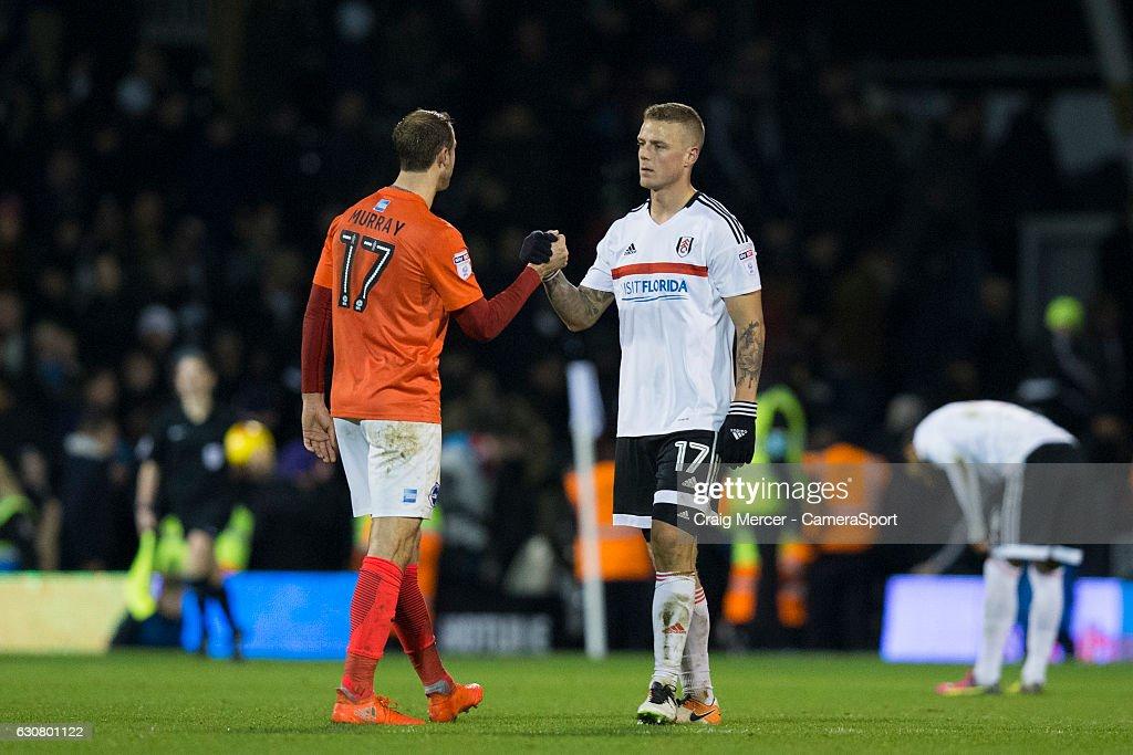 Fulham v Brighton & Hove Albion - Sky Bet Championship