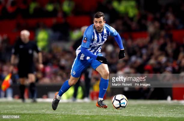 Brighton Hove Albion's Markus Suttner