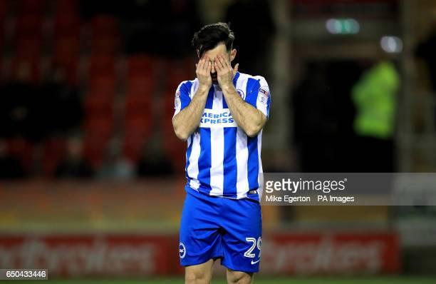 Brighton Hove Albion's Richie Towell