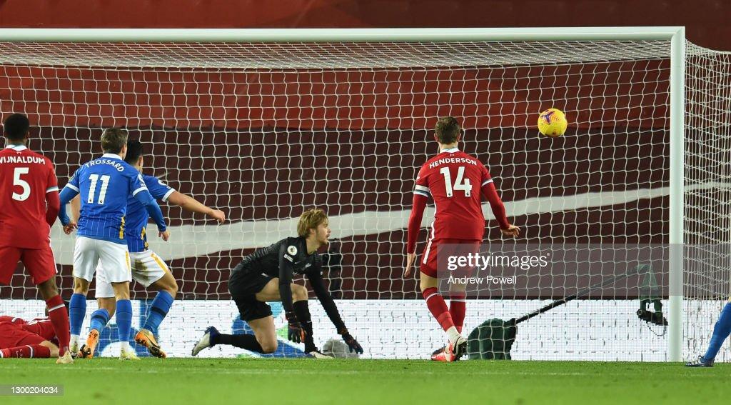 Liverpool v Brighton & Hove Albion - Premier League : News Photo