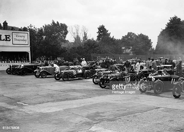 Brighton Hove Motor Club High Speed Trial Brooklands c1931 Alvis Bentley Event Entry No 49 Riley 1089 cc Event Entry No 3 Riley Brooklands 9 1089 cc...