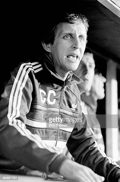 Brighton manager Chris Cattlin during the Division 2 football match between Cambridge United and Brighton held at Abbey Stadium Cambridge on 29th...