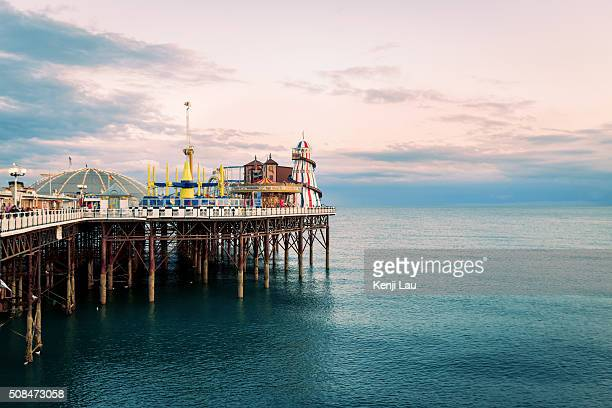 Brighton Pier in East sussex, UK