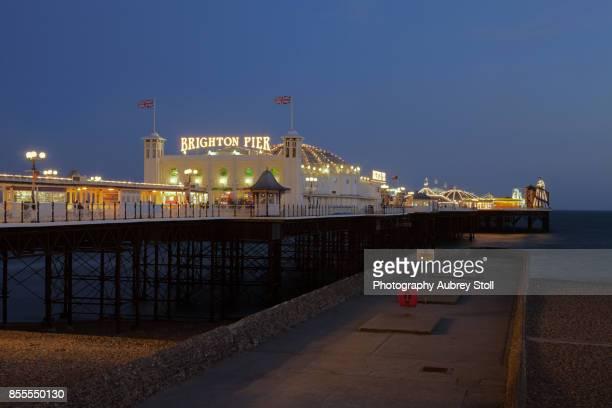 brighton pier - brighton england stock pictures, royalty-free photos & images