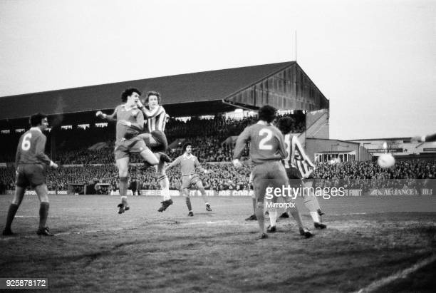 Brighton v Portsmouth, final score Brighton 4 - 0 Portsmouth, Division 3. Pictured in the middle is Chris Kamara, 6th April 1977.