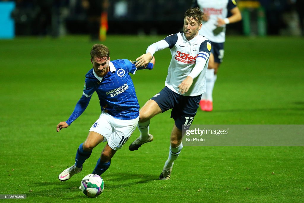 Preston North End v Brighton And Hove Albion - Carabao Cup Third Round : News Photo