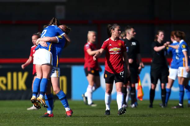 GBR: Brighton & Hove Albion Women v Manchester United Women - Barclays FA Women's Super League