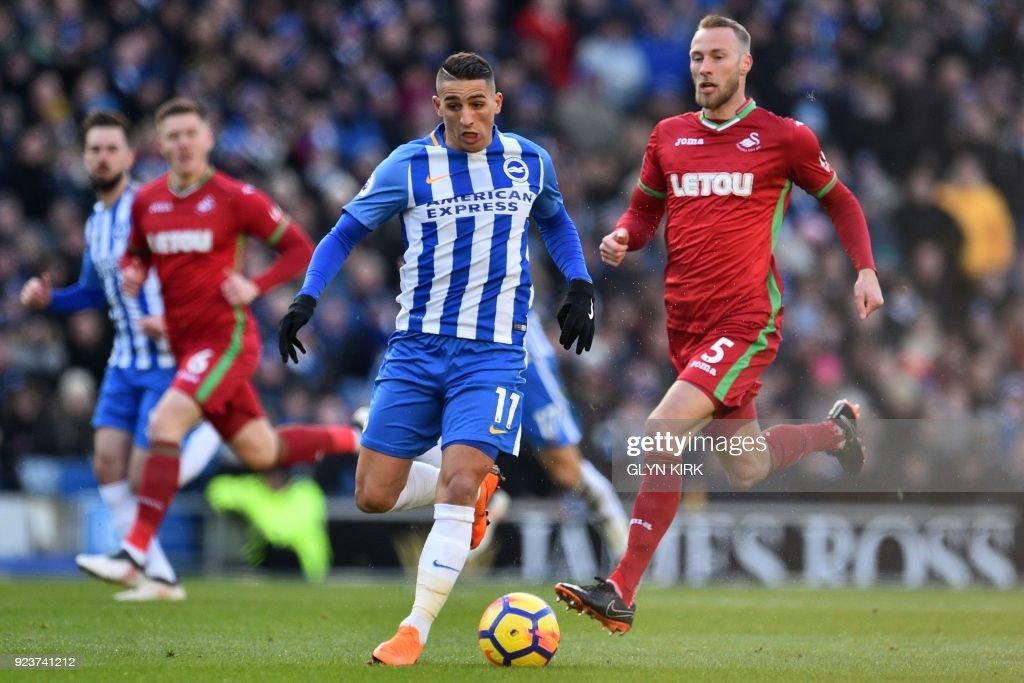 Brighton and Hove Albion v Swansea City - Premier League