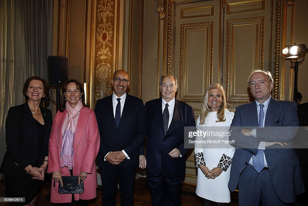 U.S. Secretary Of State John Kerry Decorated At Quai D'orsay In Paris