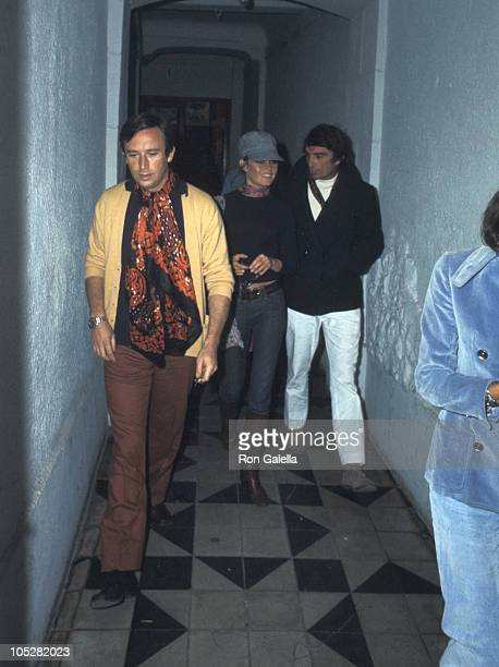 Brigitte Bardot and Gunter Sachs during Bridget Bardot at Zoom Zoom Nightclub at Zoom Zoom Nightclub in St Tropez France