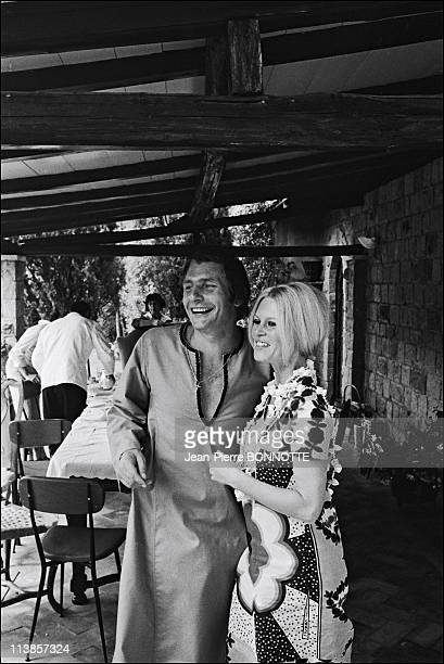 Brigitte Bardot and Gunther Sachs in Rome in 1967 Brigitte BardotGunther Sachs