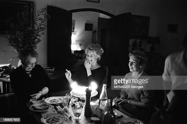 Brigitte Bardot Celebrates Her 24 Birthday In Saint Tropez Brigitte BARDOT fête son anniversaire à Saint Tropez