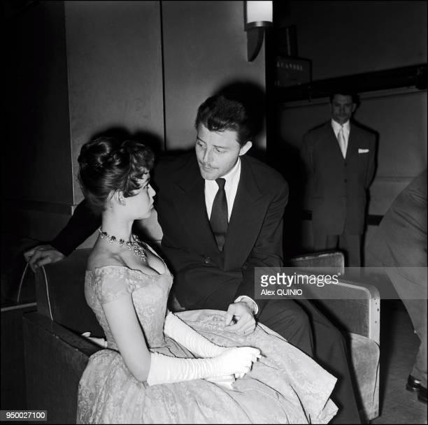 Brigitte Bardot et Gerard Philipe 1955