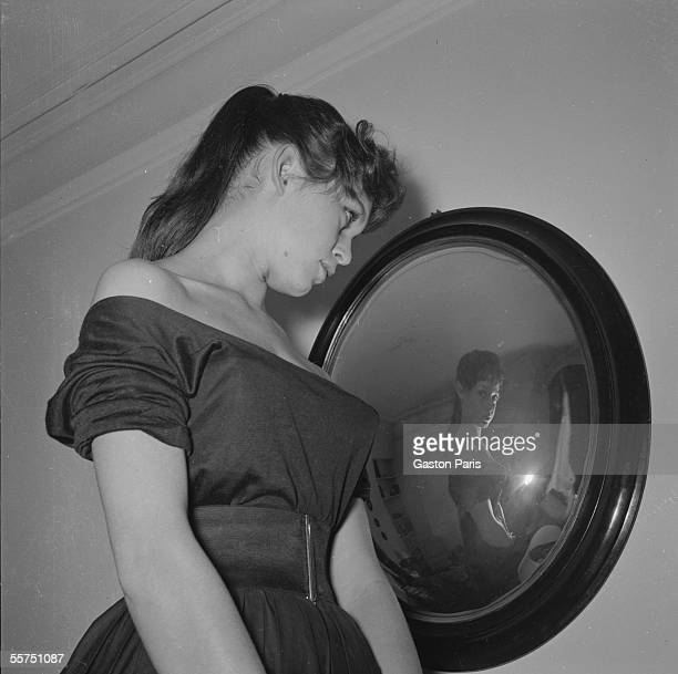 Brigitte Bardot French actress France about 19541955